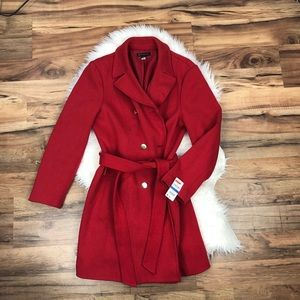 INC Double Breasted Coat